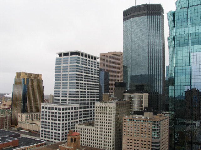 Minneapolis, during the day.